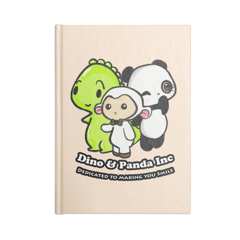 Dino & Panda Inc Accessories Notebook by Dino & Panda Inc Artist Shop