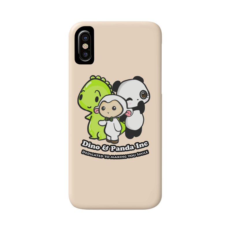 Dino & Panda Inc Accessories Phone Case by Dino & Panda Inc Artist Shop