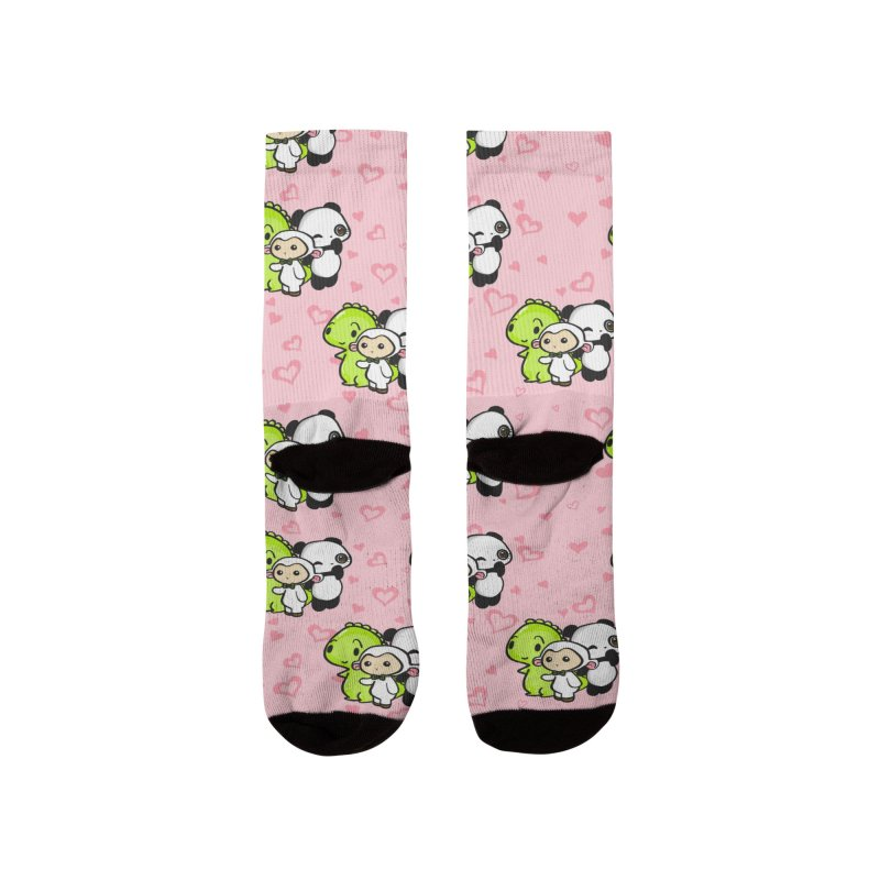Dino & Panda Inc Men's Socks by Dino & Panda Artist Shop
