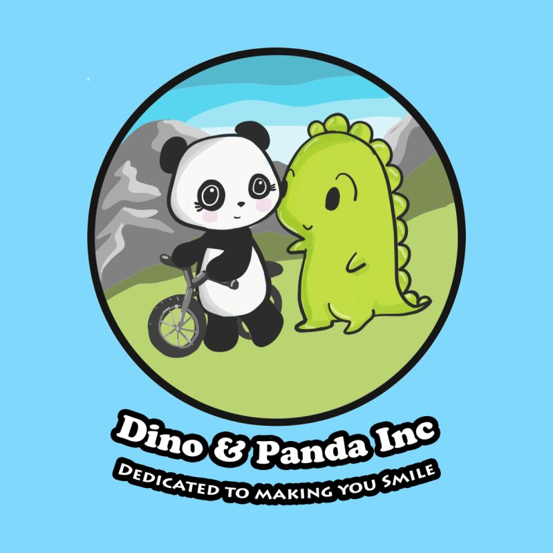 Dino & Panda's Bike Ride Accessories Bag by Dino & Panda Inc Artist Shop