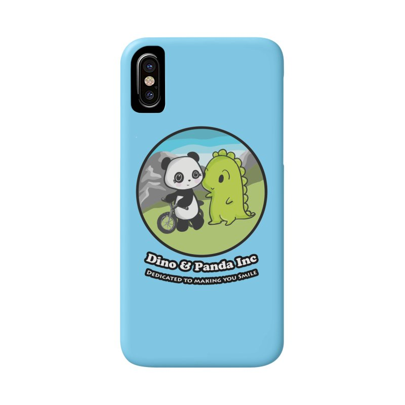 Dino & Panda's Bike Ride Accessories Phone Case by Dino & Panda Inc Artist Shop