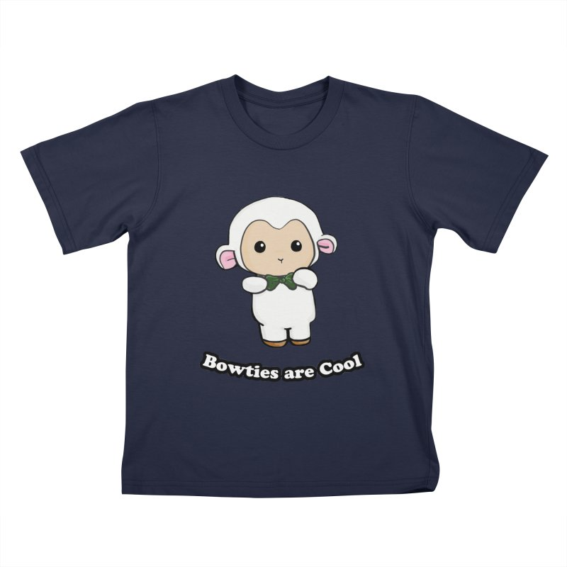 Lambie's Bowtie Kids Toddler T-Shirt by Dino & Panda Inc Artist Shop