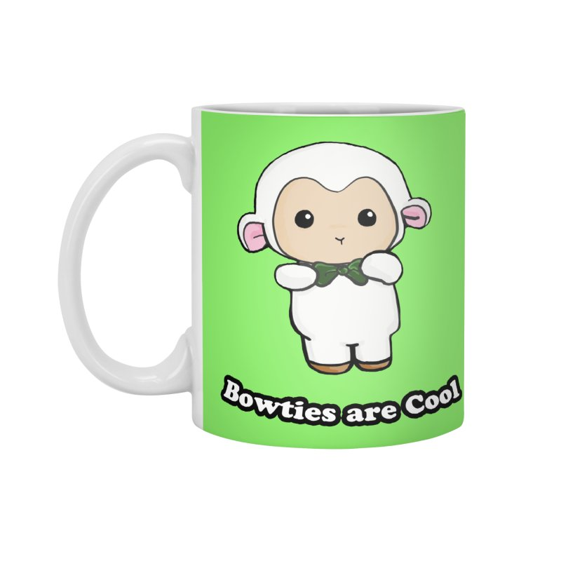 Lambie's Bowtie Accessories Mug by Dino & Panda Inc Artist Shop