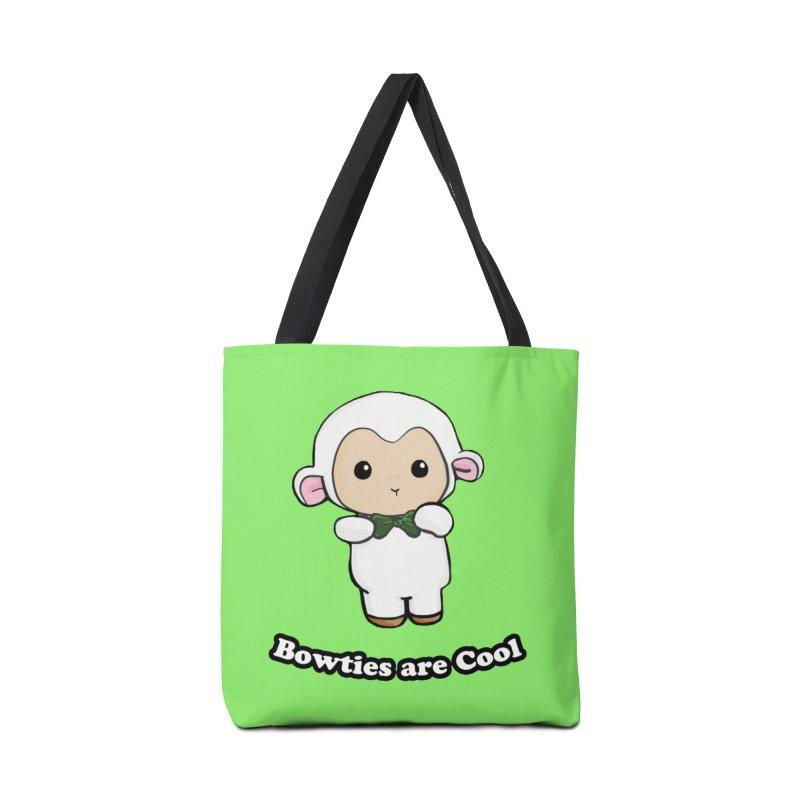 Lambie's Bowtie Accessories Tote Bag Bag by Dino & Panda Inc Artist Shop