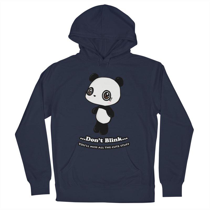 Don't Blink Men's Pullover Hoody by Dino & Panda Inc Artist Shop