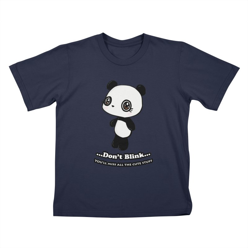 Don't Blink Kids Toddler T-Shirt by Dino & Panda Inc Artist Shop