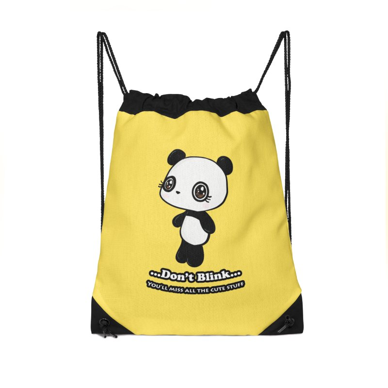 Don't Blink Accessories Bag by Dino & Panda Inc Artist Shop