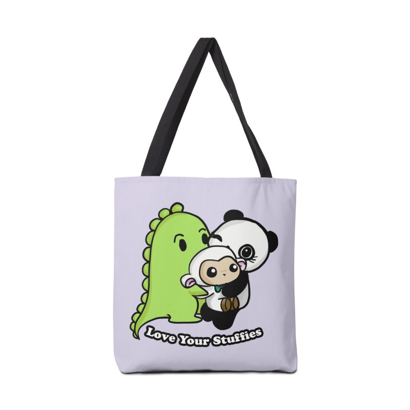 Love Your Stuffies Accessories Bag by Dino & Panda Inc Artist Shop