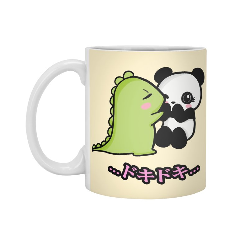 Doki Doki Accessories Mug by Dino & Panda Inc Artist Shop