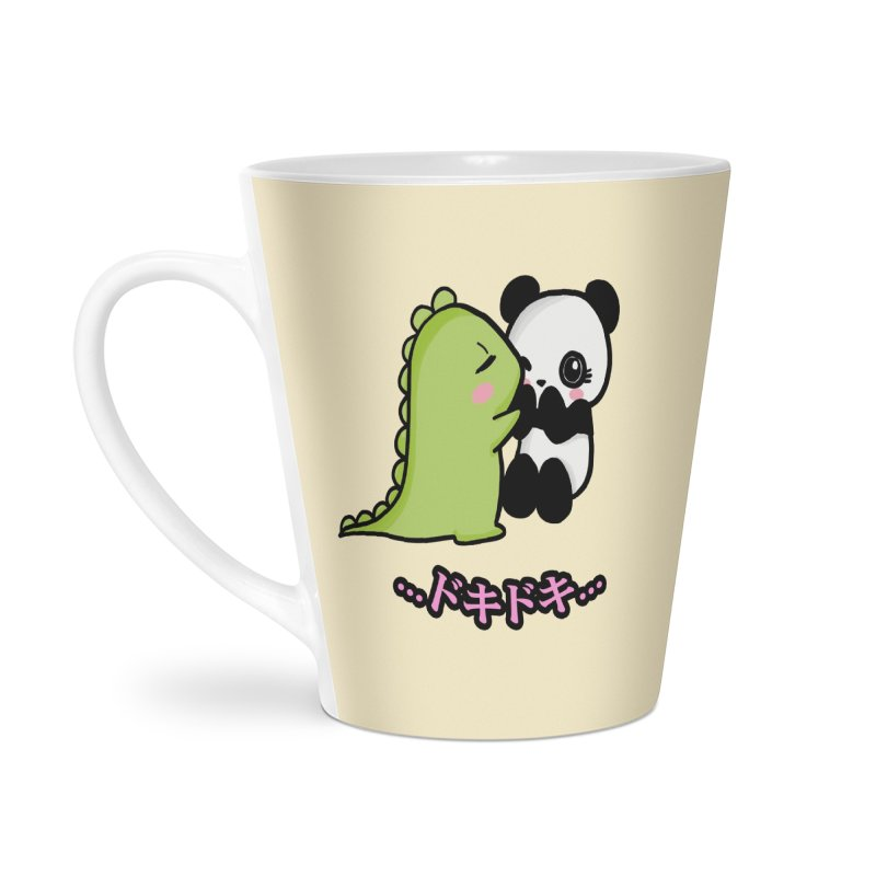 Doki Doki Accessories Latte Mug by Dino & Panda Inc Artist Shop