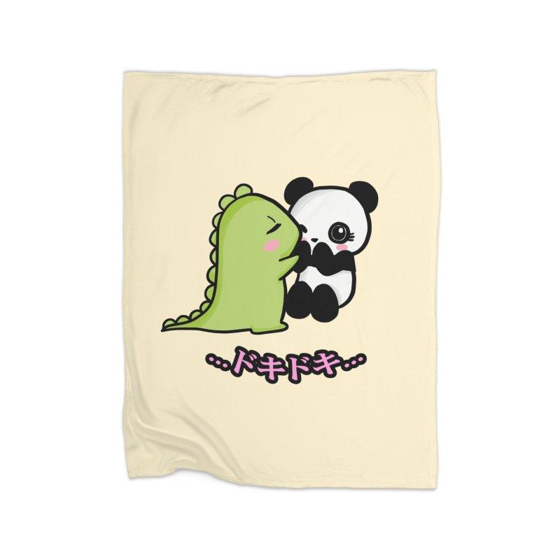Doki Doki Home Blanket by Dino & Panda Inc Artist Shop