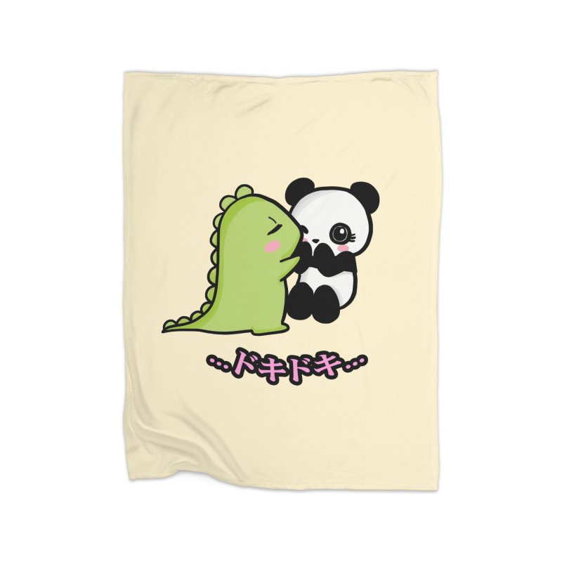 Doki Doki Home Blanket by Dino & Panda Inc Artist Shop