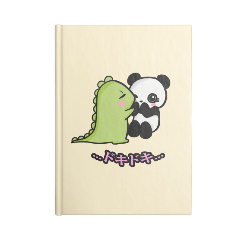Doki Doki Accessories Notebook by Dino & Panda Inc Artist Shop