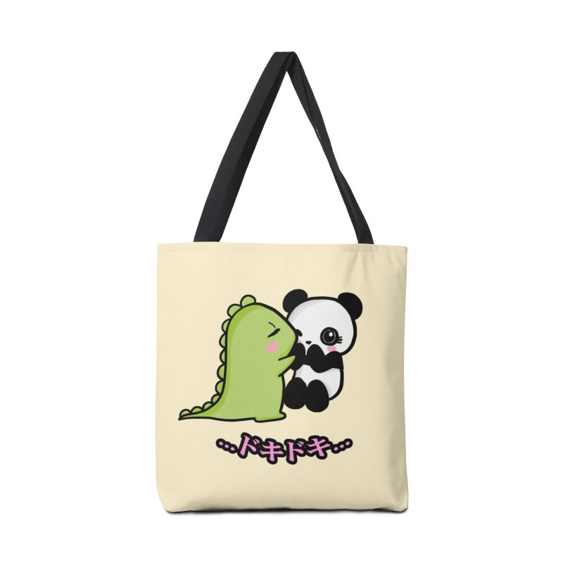 Doki Doki Accessories Bag by Dino & Panda Inc Artist Shop