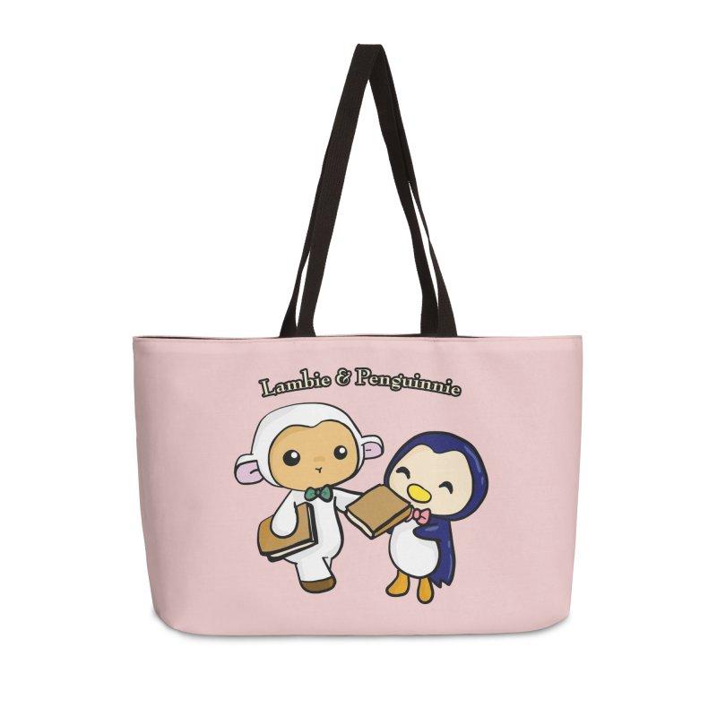 Lambie & Penguinnie Accessories Weekender Bag Bag by Dino & Panda Inc Artist Shop