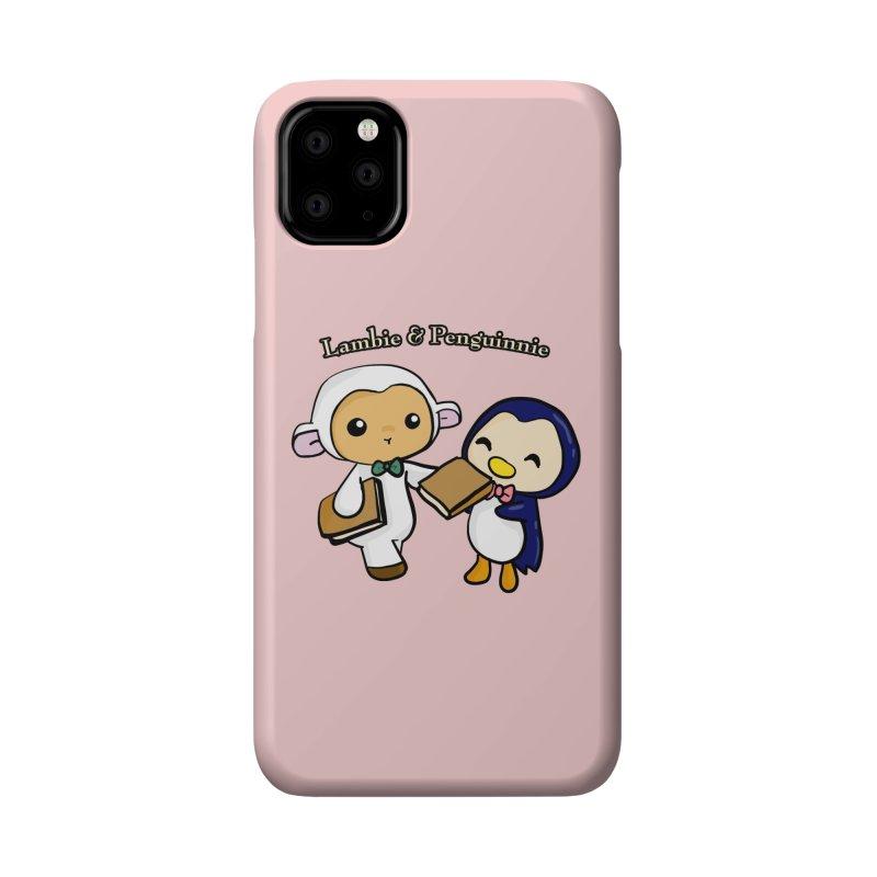 Lambie & Penguinnie Accessories Phone Case by Dino & Panda Inc Artist Shop