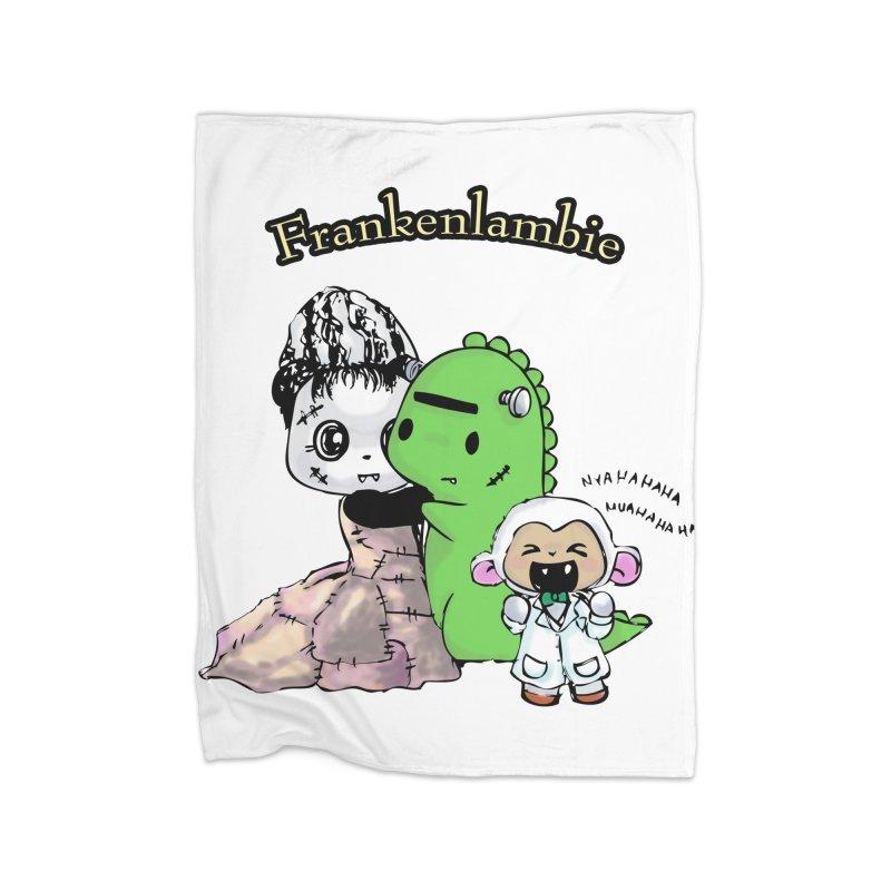 Frankenlambie  Home Blanket by Dino & Panda Inc Artist Shop