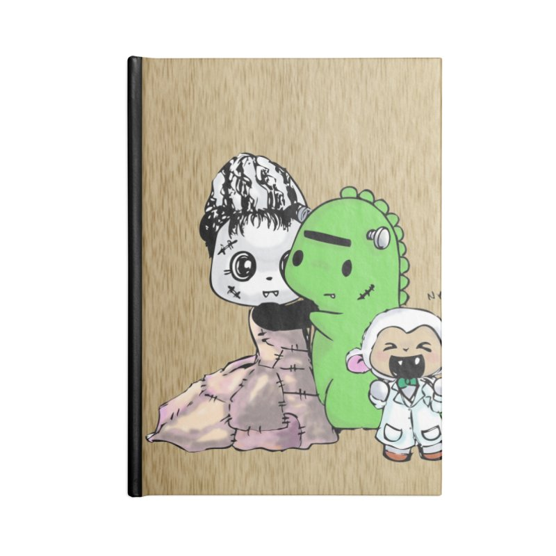 Frankenlambie  Accessories Notebook by Dino & Panda Inc Artist Shop