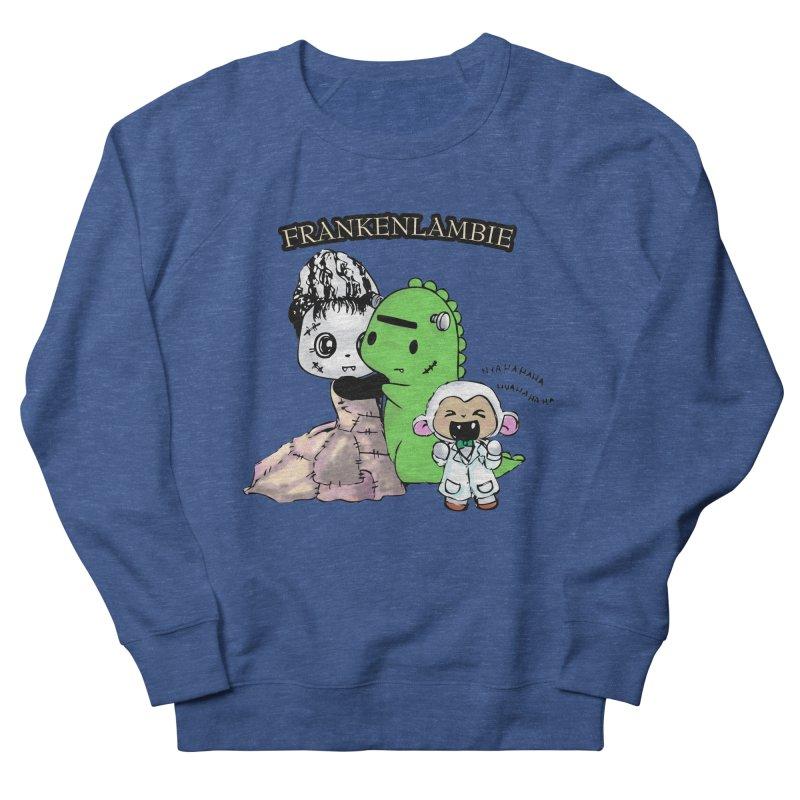 Frankenlambie  Men's Sweatshirt by Dino & Panda Artist Shop