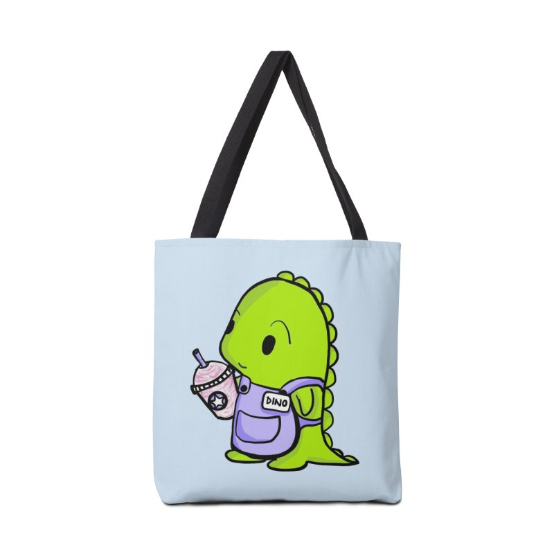 Barista Dino Accessories Bag by Dino & Panda Inc Artist Shop