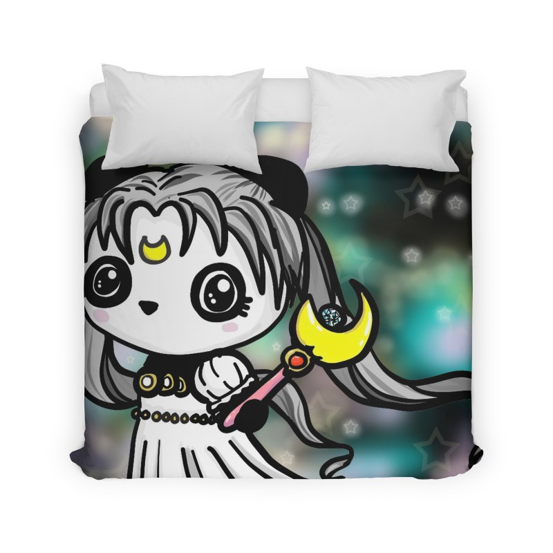 Princess Panda Serenity Home Duvet by Dino & Panda Inc Artist Shop