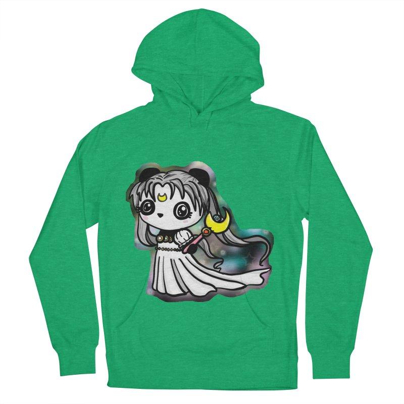 Princess Panda Serenity Men's French Terry Pullover Hoody by Dino & Panda Inc Artist Shop