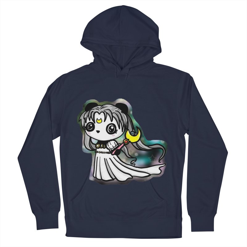 Princess Panda Serenity Men's French Terry Pullover Hoody by Dino & Panda Inc Artist Shop