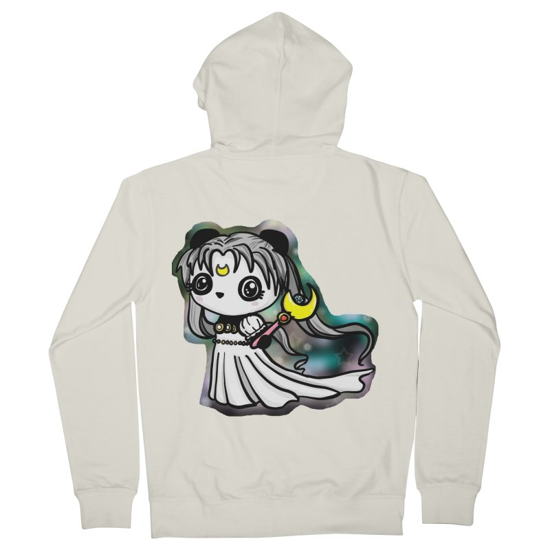 Princess Panda Serenity Men's Zip-Up Hoody by Dino & Panda Inc Artist Shop