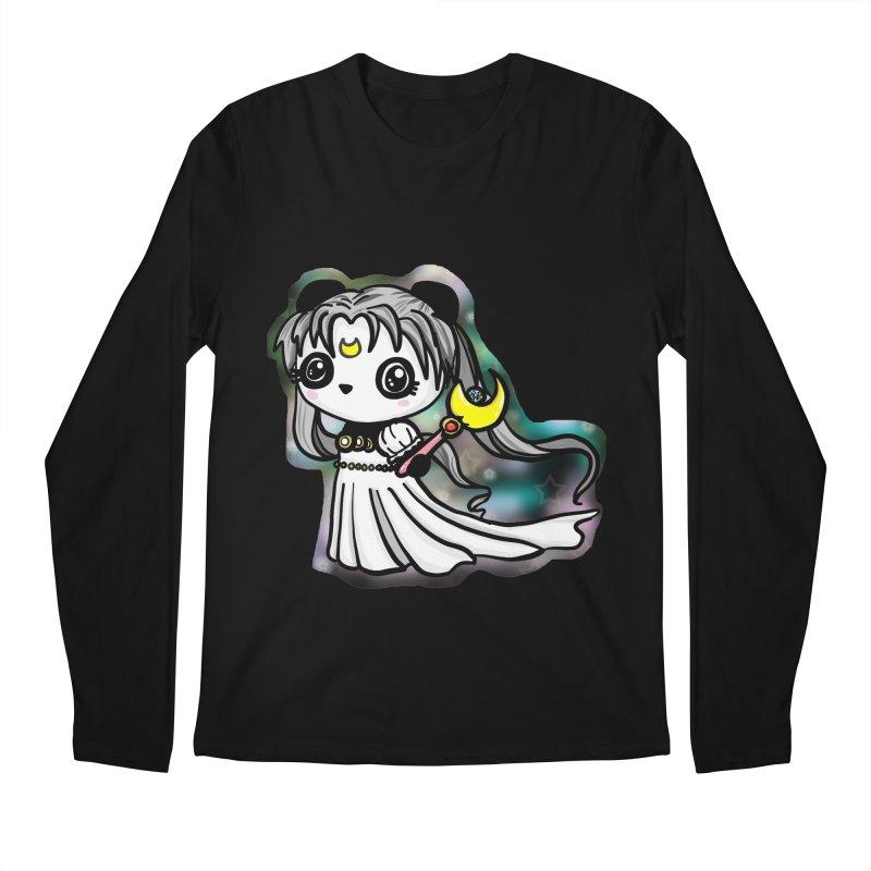 Princess Panda Serenity Men's Longsleeve T-Shirt by Dino & Panda Inc Artist Shop