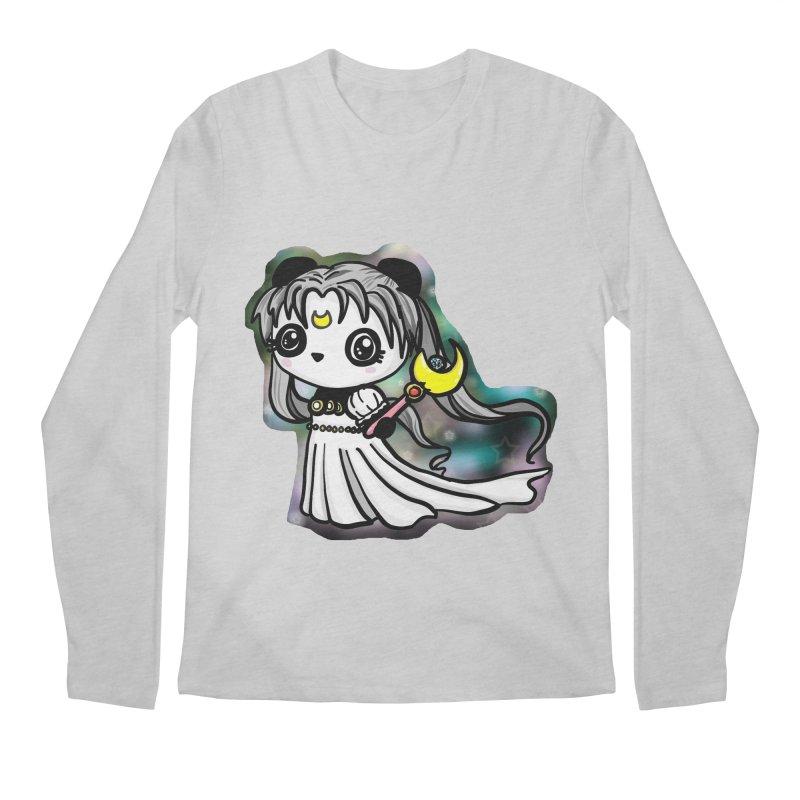 Princess Panda Serenity Men's Regular Longsleeve T-Shirt by Dino & Panda Inc Artist Shop