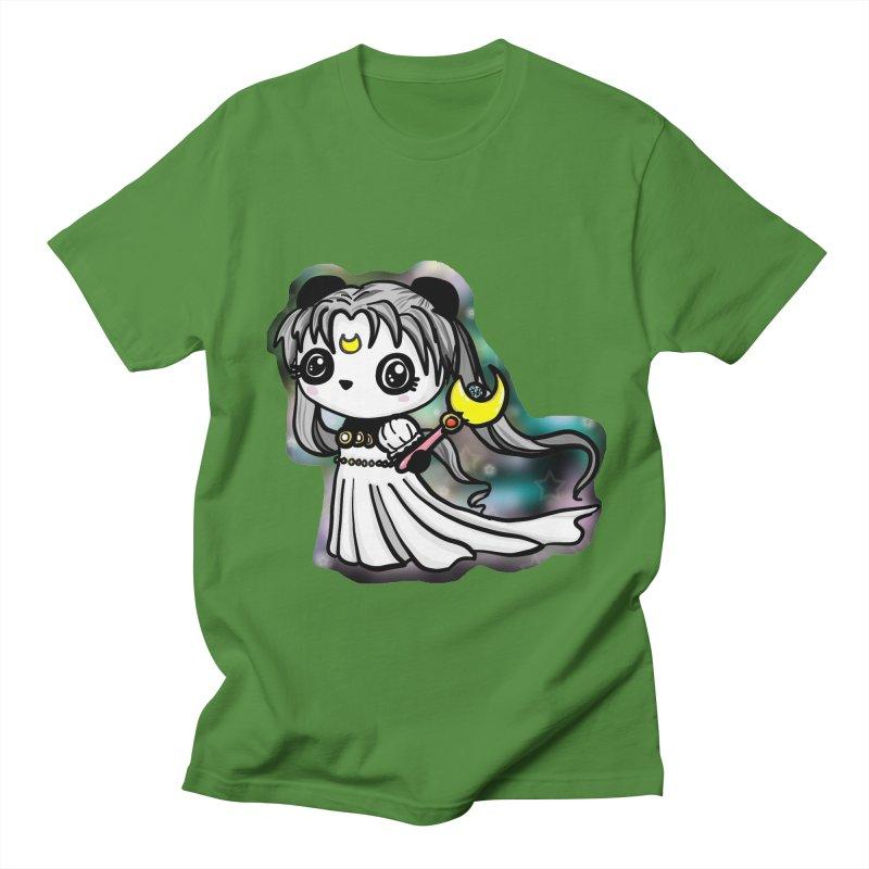 Princess Panda Serenity Men's Regular T-Shirt by Dino & Panda Inc Artist Shop