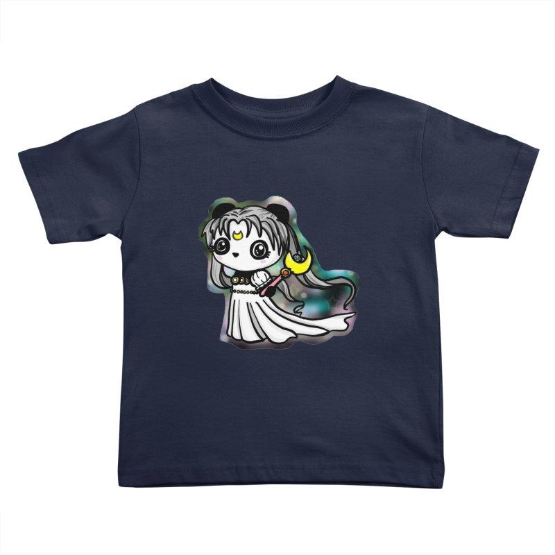 Princess Panda Serenity Kids Toddler T-Shirt by Dino & Panda Inc Artist Shop