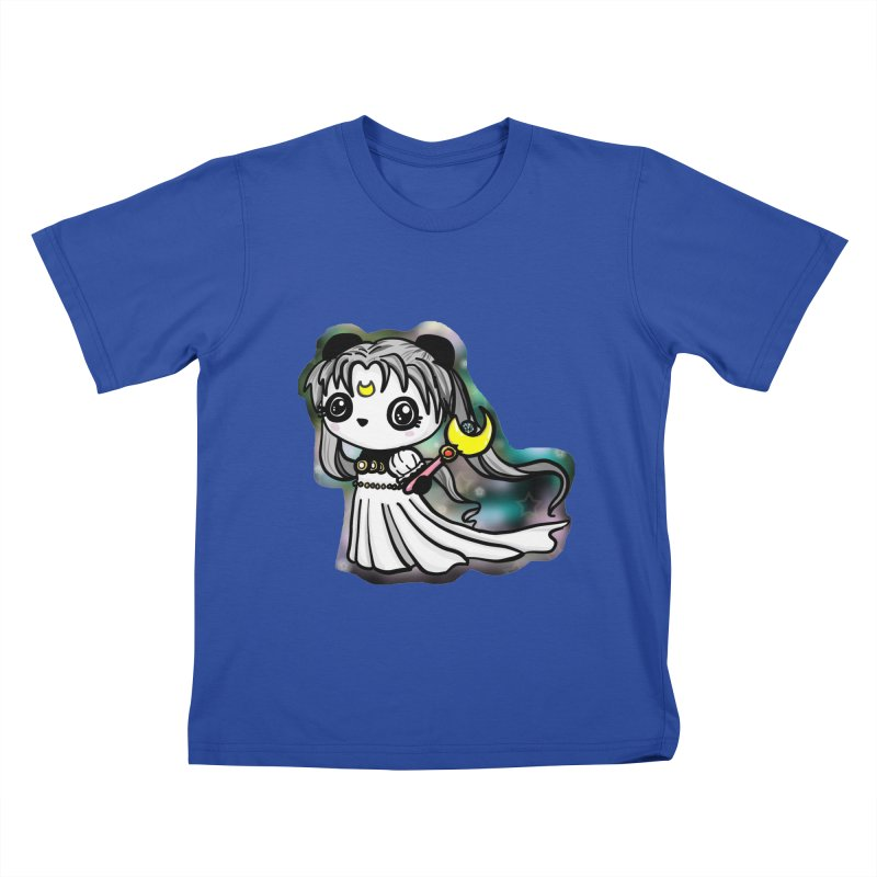 Princess Panda Serenity Kids T-Shirt by Dino & Panda Inc Artist Shop