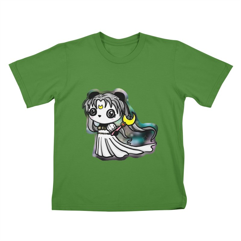 Princess Panda Serenity Kids T-Shirt by Dino & Panda Inc Artist Shop