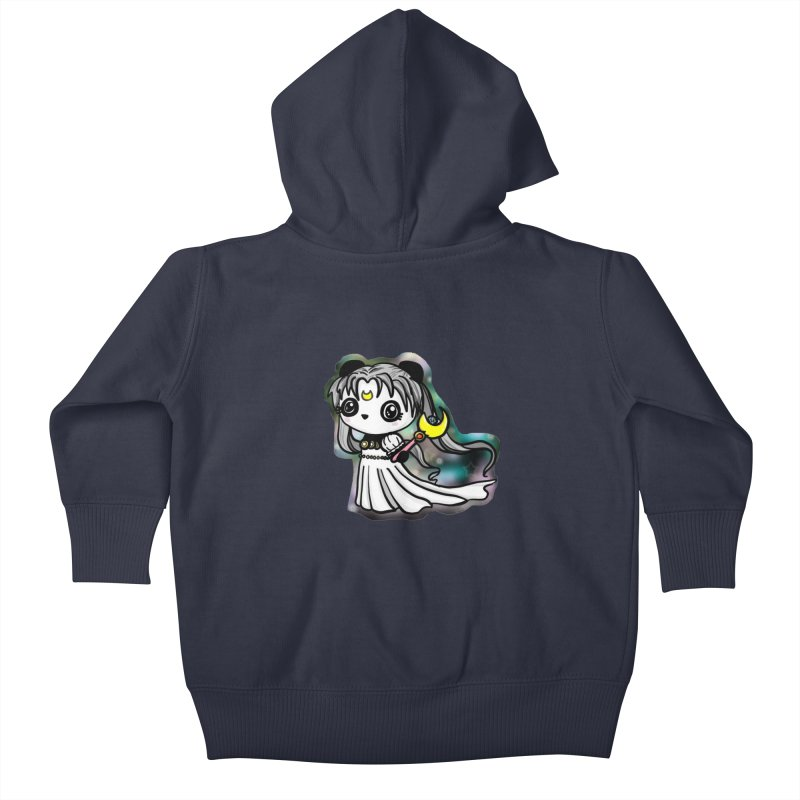 Princess Panda Serenity Kids Baby Zip-Up Hoody by Dino & Panda Inc Artist Shop