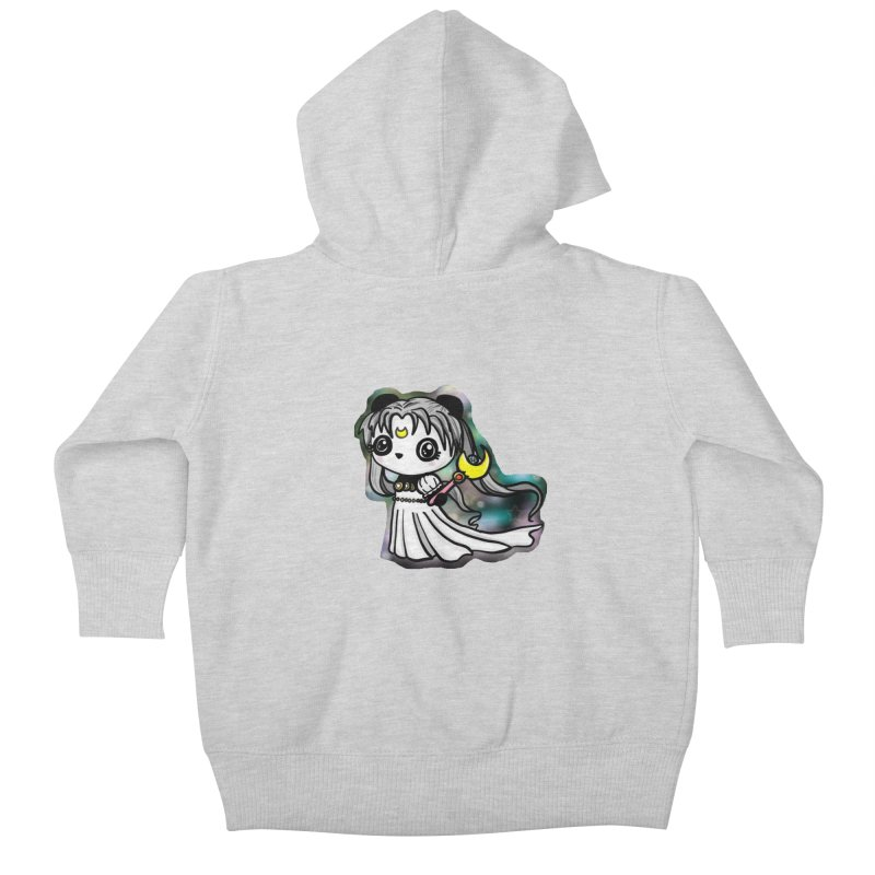 Princess Panda Serenity Kids Baby Zip-Up Hoody by Dino & Panda Inc Artist Shop