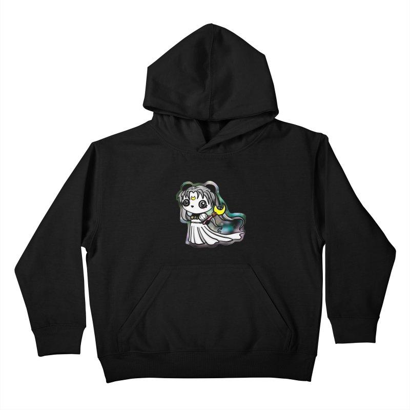 Princess Panda Serenity Kids Pullover Hoody by Dino & Panda Inc Artist Shop