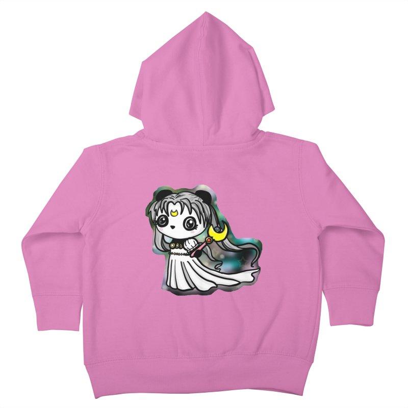 Princess Panda Serenity Kids Toddler Zip-Up Hoody by Dino & Panda Inc Artist Shop
