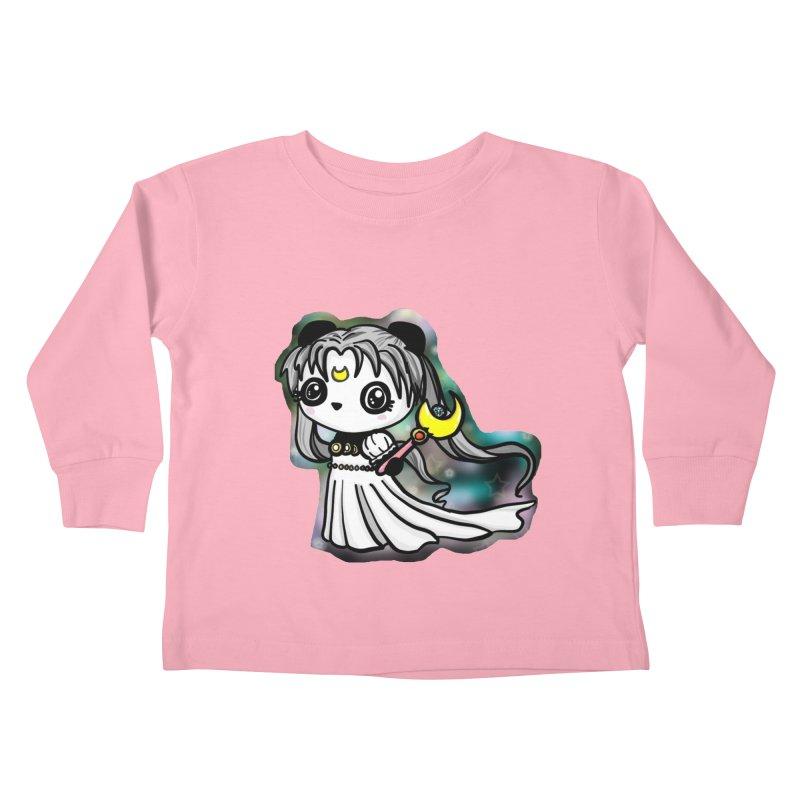 Princess Panda Serenity Kids Toddler Longsleeve T-Shirt by Dino & Panda Inc Artist Shop