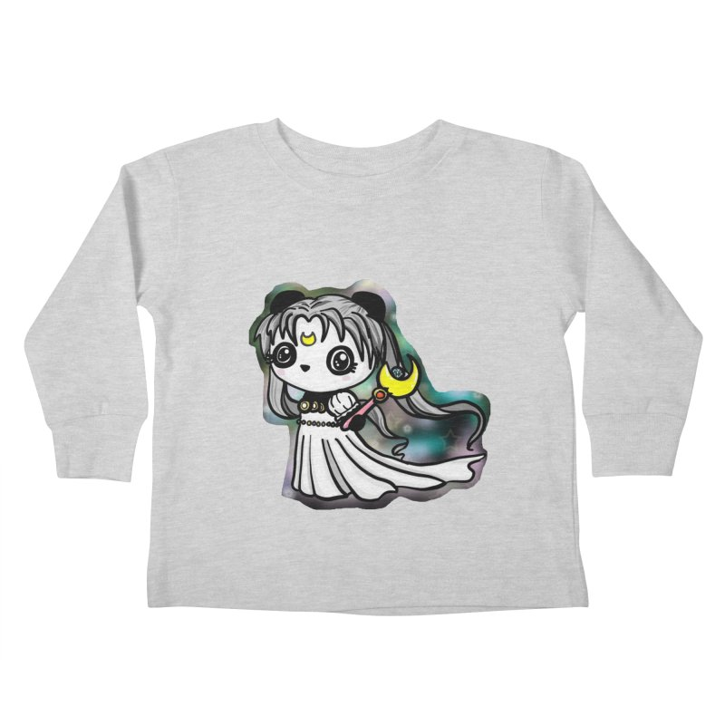 Princess Panda Serenity Kids Toddler Longsleeve T-Shirt by Dino & Panda Inc Artist Shop