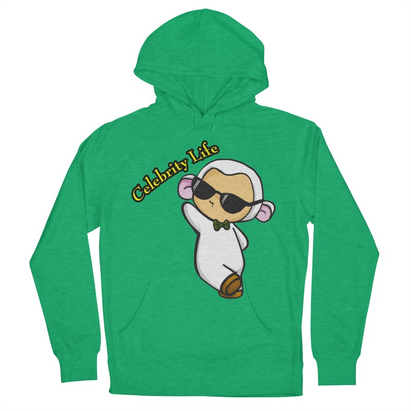 Celebrity Lambie Men's Pullover Hoody by Dino & Panda Inc Artist Shop
