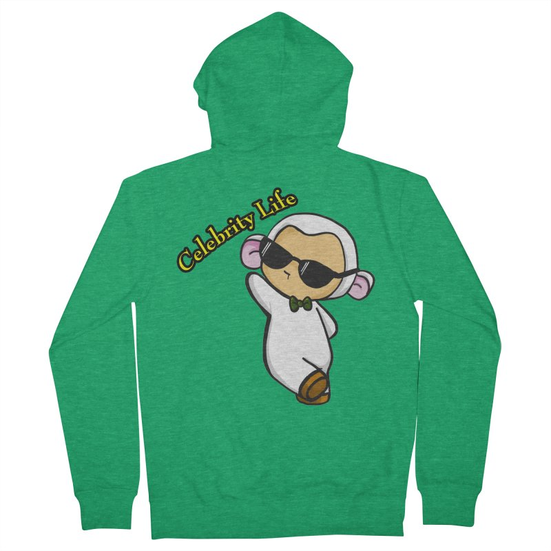 Celebrity Lambie Women's Zip-Up Hoody by Dino & Panda Inc Artist Shop