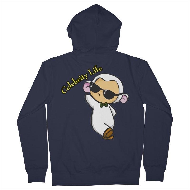 Celebrity Lambie Women's Zip-Up Hoody by Dino & Panda Inc Artist Shop
