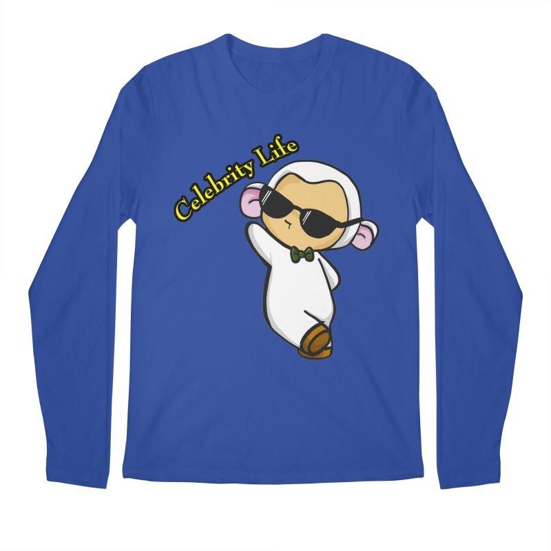 Celebrity Lambie Men's Longsleeve T-Shirt by Dino & Panda Inc Artist Shop