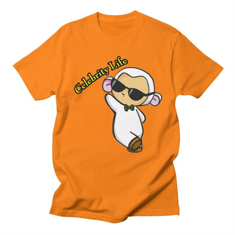 Celebrity Lambie Men's Regular T-Shirt by Dino & Panda Inc Artist Shop