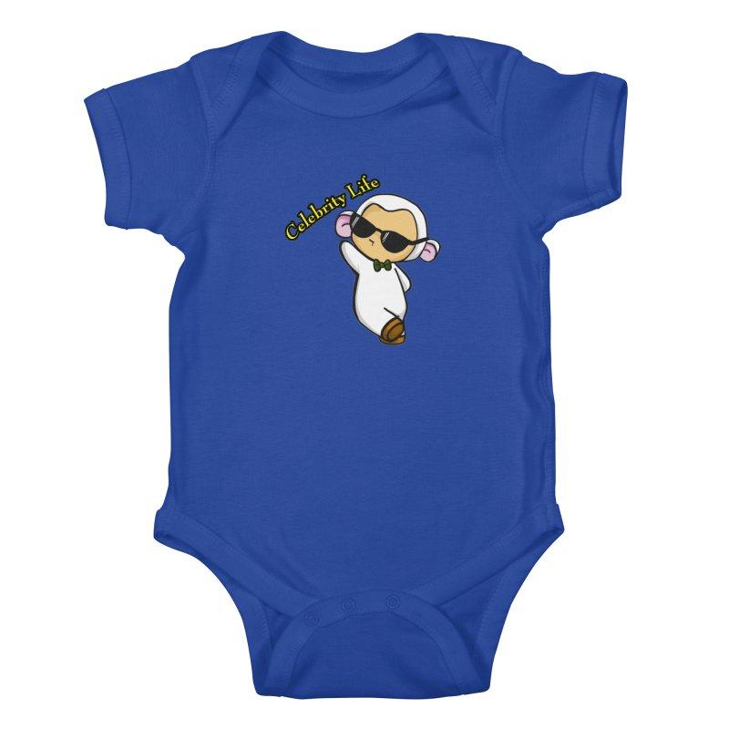 Celebrity Lambie Kids Baby Bodysuit by Dino & Panda Inc Artist Shop