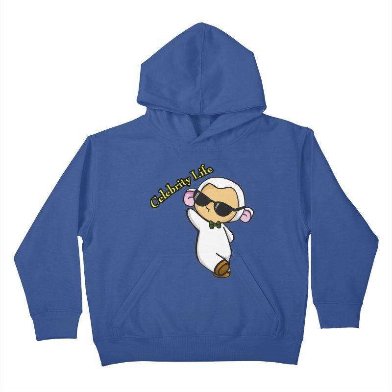 Celebrity Lambie Kids Pullover Hoody by Dino & Panda Inc Artist Shop