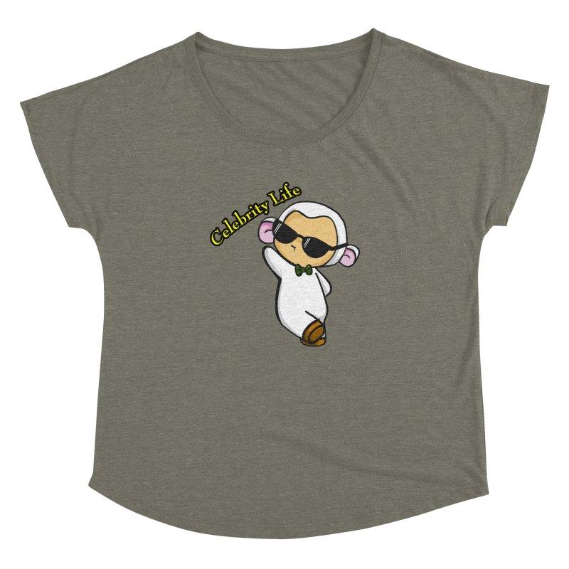 Celebrity Lambie Women's Dolman by Dino & Panda Inc Artist Shop