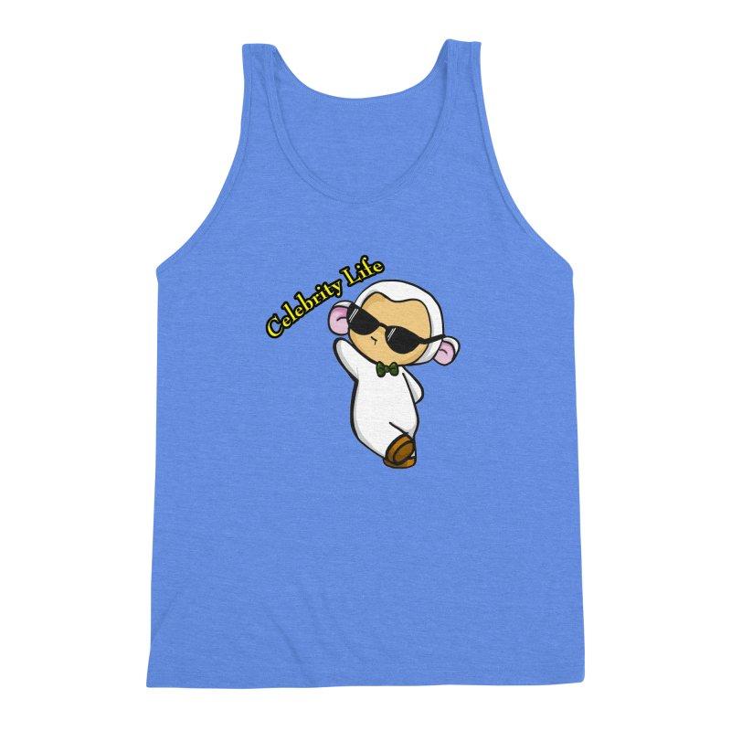 Celebrity Lambie Men's Triblend Tank by Dino & Panda Inc Artist Shop