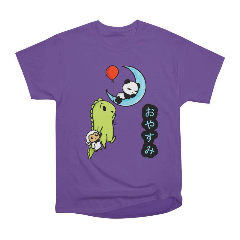Sleepy Panda- Oyasumi Men's Classic T-Shirt by Dino & Panda Inc Artist Shop